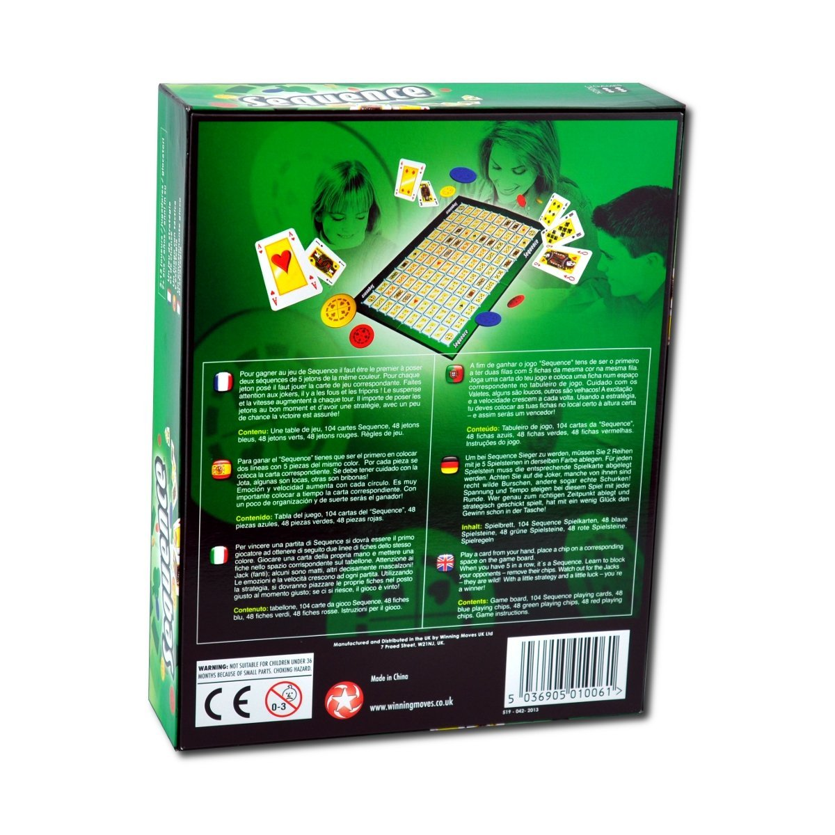Sequence The Board Game Amazon Toys Games
