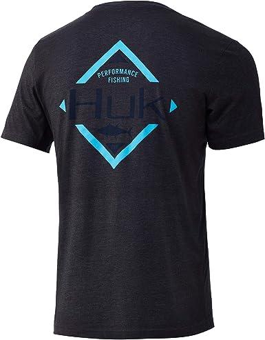 Offshore Shield X-Large White Performance Fishing T-Shirt HUK Short Sleeve Performance Tee