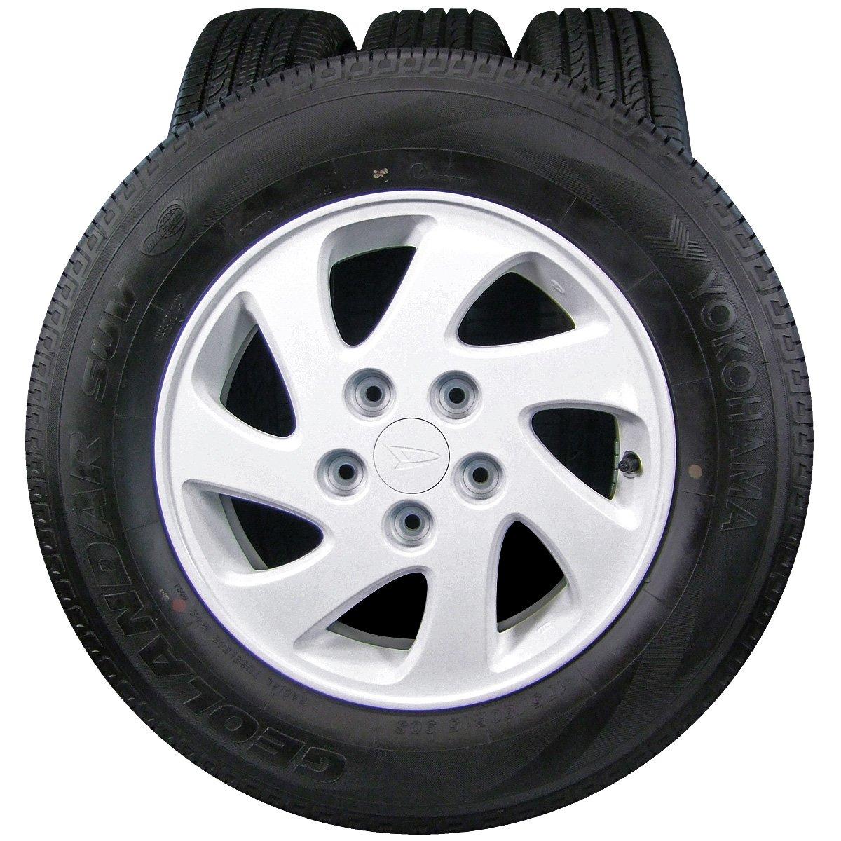 15インチ 4本セット タイヤ&ホイール YOKOHAMA (ヨコハマ) GEOLANDAR (ジオランダー) SUV 175/80R15 DAIHATSU (ダイハツ) TERIOS-KID (テリオスキッド) 純正 15×5J(+50)PCD114.3-5穴 B07BY77LJS