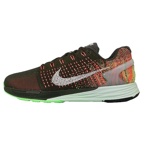 promo code f317b 301ff Amazon.com   Nike Women s Wmns Lunarglide 7 Flash, SEQUOIA REFLECT ...