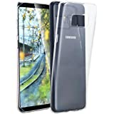 Galaxy S8 Hülle,Galaxy S8 Case, Snewill Soft TPU Crystal Clear Slim Anti-Scratch Protective Cover Case for Samsung Galaxy S8 - Transparent