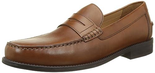 Geox U New Damon B, Mocasines para Hombre, Marrón (Cognacc6001), 46 EU: Amazon.es: Zapatos y complementos