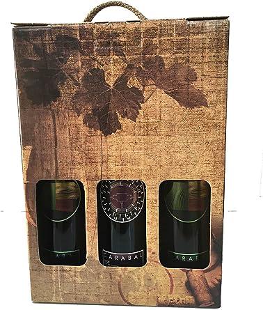 Estuche para los amantes del vino con dos botellas Carabal Rasgo y ...