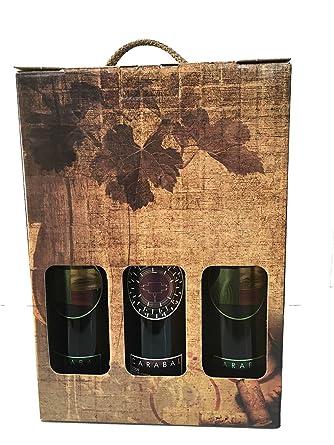 Estuche para los amantes del vino con dos botellas Carabal ...