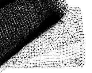 Bird B Gone UN-341 Garden Bird Netting Mesh, 3/4-Inch by 14-Feet by 100-Feet, Black