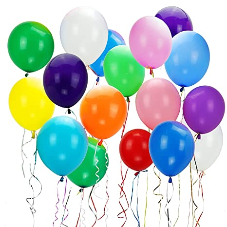 Colorful Mixed Colors Party Ballons Assortiment De Ballons Pour Fête Danniversaire De Mariage 100pc Ballons Assortis