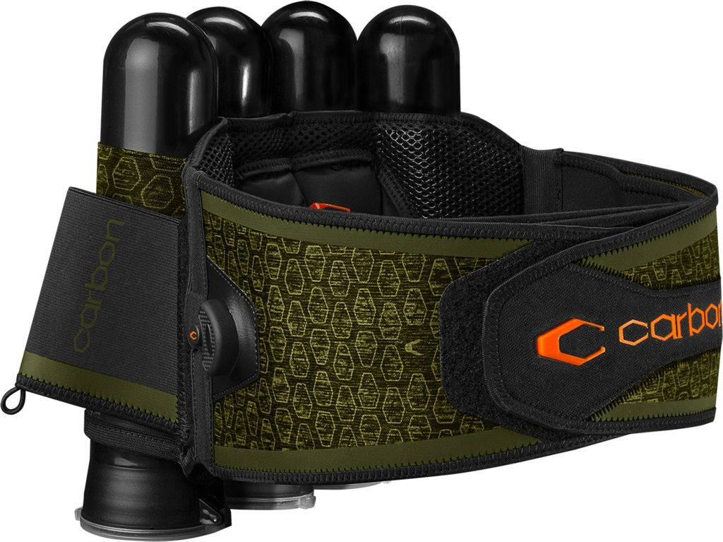 Carbon SC Harness Paintball 4-Pack Olive by Carbon