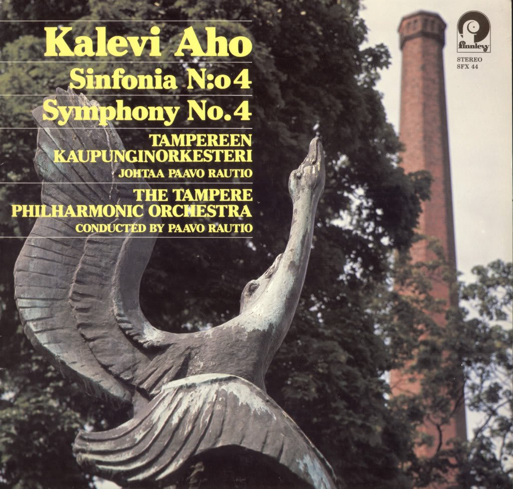 Aho, Kalevi: Sinfonia n:o 4 / Paavo Rautio, Tampereen kaupunginorkesteri