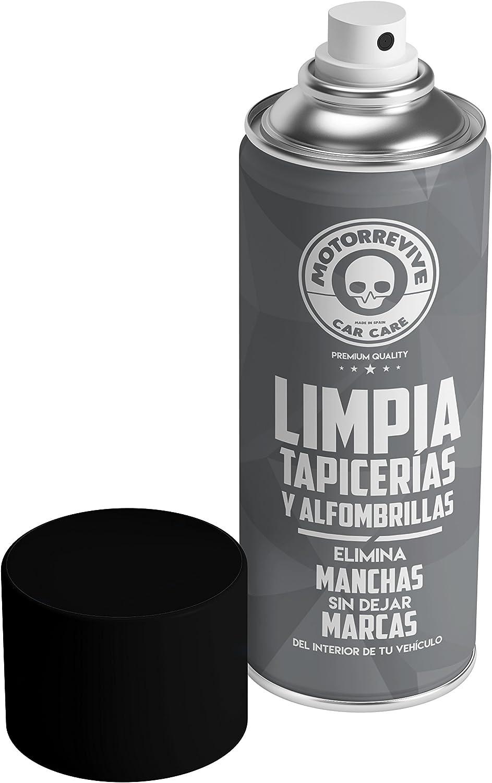 Motorrevive - Limpia Tapicerias Coche Profesional - 400 ml: Amazon.es: Coche y moto