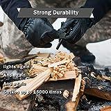 KEPEAK Magnesium Fire Starter Rod for Emergency