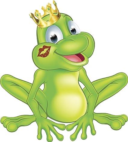 Amazon com: Happy Classic Prince Frog with Princess Kiss