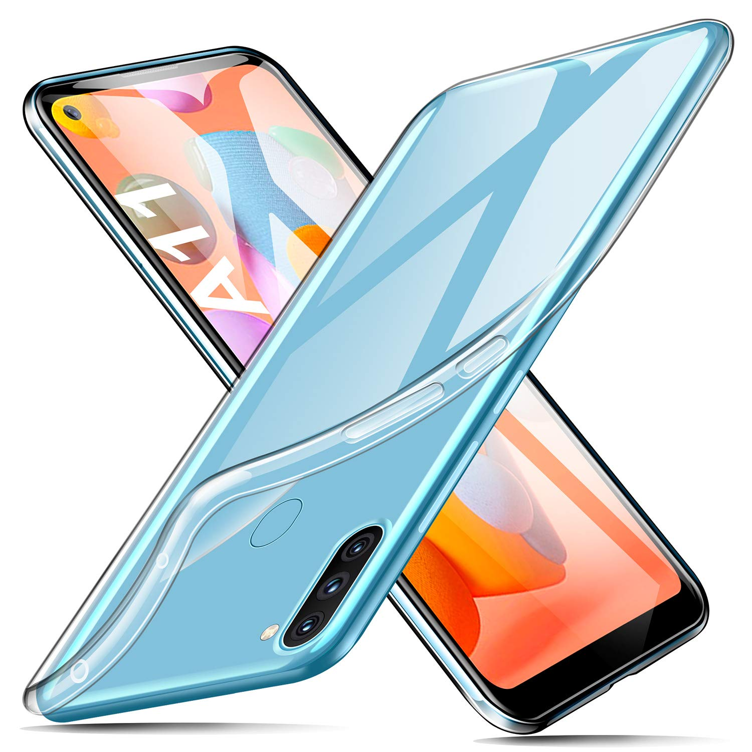 ivencase for Samsung Galaxy A11 Case, Slim Soft TPU Silicone Clear Case  [Anti-Yellow] [Drop Protection] [Anti-scratch] [Anti-Slip] Transparent Case  Protective Slim Phone Case For Samsung Galaxy A11 - Buy Online in India. |