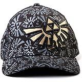 Nintendo Legend of Zelda Triforce Logo AOP Baseball Cap Hat