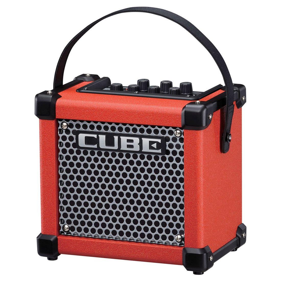 Roland MICRO CUBE GX - Micro Cube con pilas amplificador de guitarra roja: Amazon.es: Instrumentos musicales