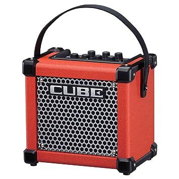Roland MICRO CUBE GX - Micro Cube con pilas amplificador de guitarra roja