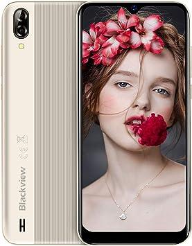 Blackview A60 Moviles 2019, Smartphone Libres (15.7cm) 19.2:9 HD ...