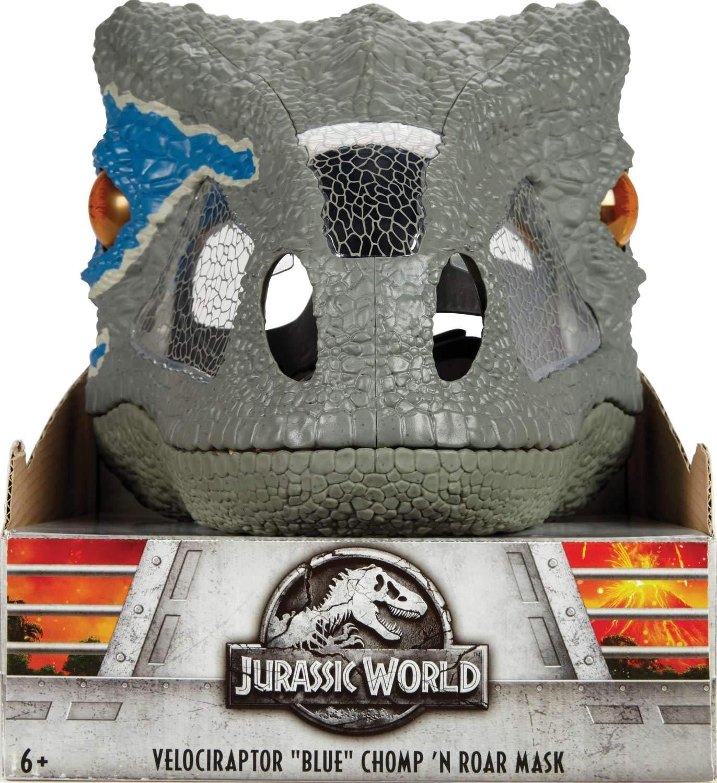Jurassic World Chomp 'n Roar Mask Velociraptor ''blue'' by Jurassic World Toys (Image #8)