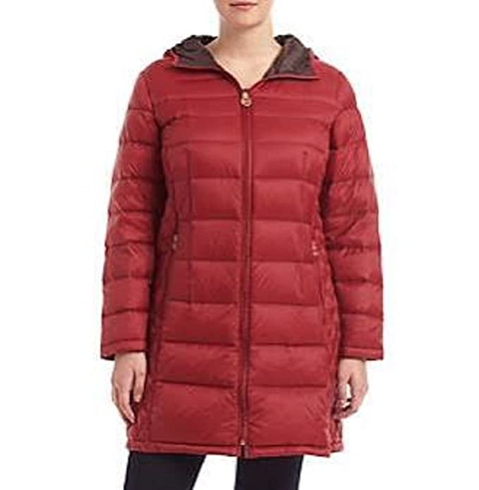 277f154713715 MICHAEL Michael Kors women s Plus Size Packable Puffer Coat lightweight  jacket (2X)  Amazon.ca  Clothing   Accessories