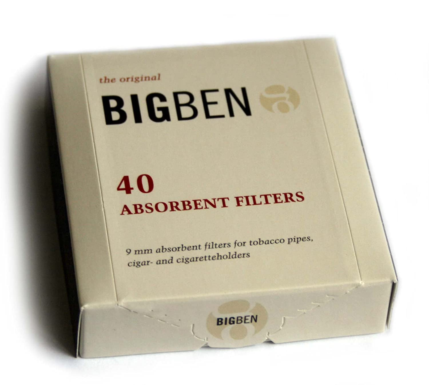 Amazon.com  BIG BEN pipe FILTERS 9mm - box of 40 filters  Other Products  Pet Supplies  sc 1 st  Amazon.com & Amazon.com : BIG BEN pipe FILTERS 9mm - box of 40 filters : Other ...