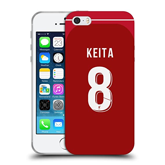 new style 17b69 87626 Amazon.com: Official Liverpool Football Club Naby Keita 2018 ...