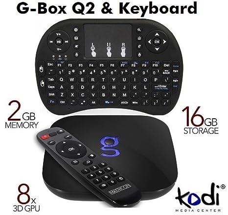 dc62a418277d Matricom G-Box Q2 Quad   Octo Core Android TV Box Gbox  Amazon.co.uk   Electronics