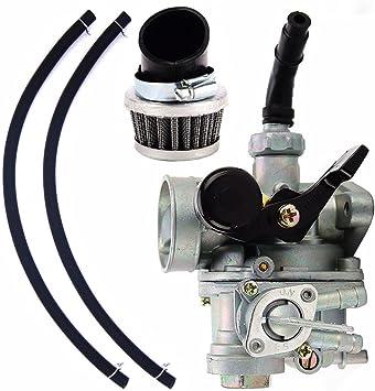Carburetor /& Air Filter For HONDA ATC70 Carb Hand Choke 1978-1985