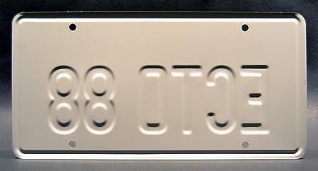 Celebrity Machines Ready Player One Parzival Ecto 88 Metallkennzeichen Auto