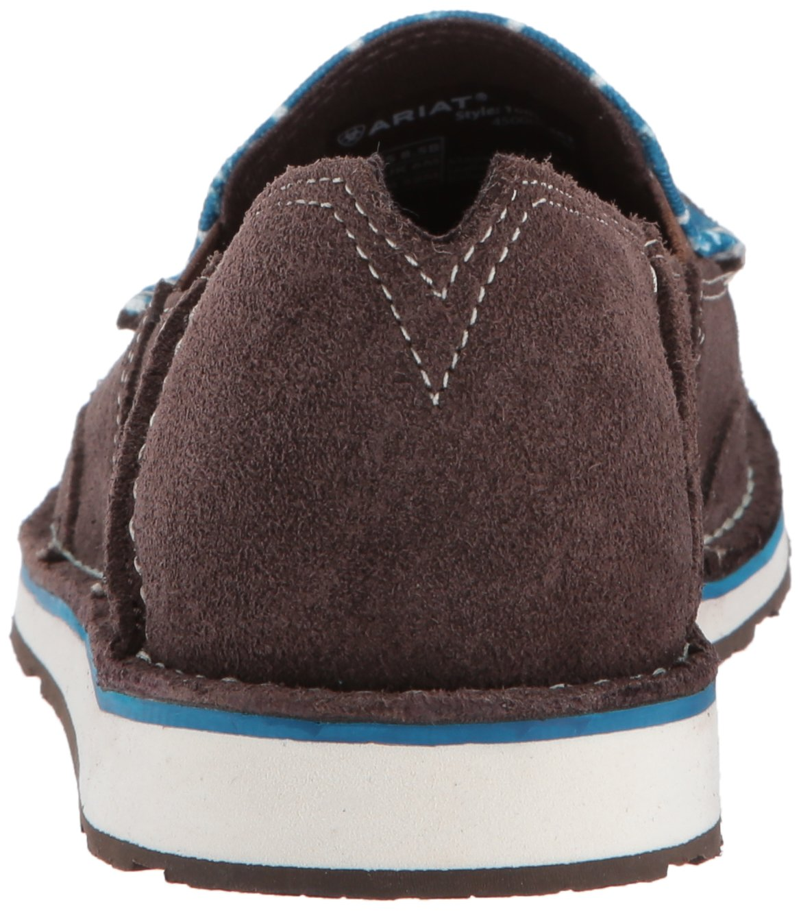 Ariat Women's Cruiser Slip-on Shoe B01N9XLIOC 5.5 B(M) US|Chocolate/Seaport Shoes