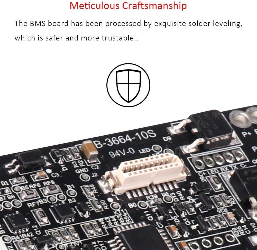 Carte de Protection BMS du Contr/ôleur de Tableau de Bord de Batterie SUNJULY Pour le Scooter Electrique Xiaomi M365 Pro Scooter Electrique