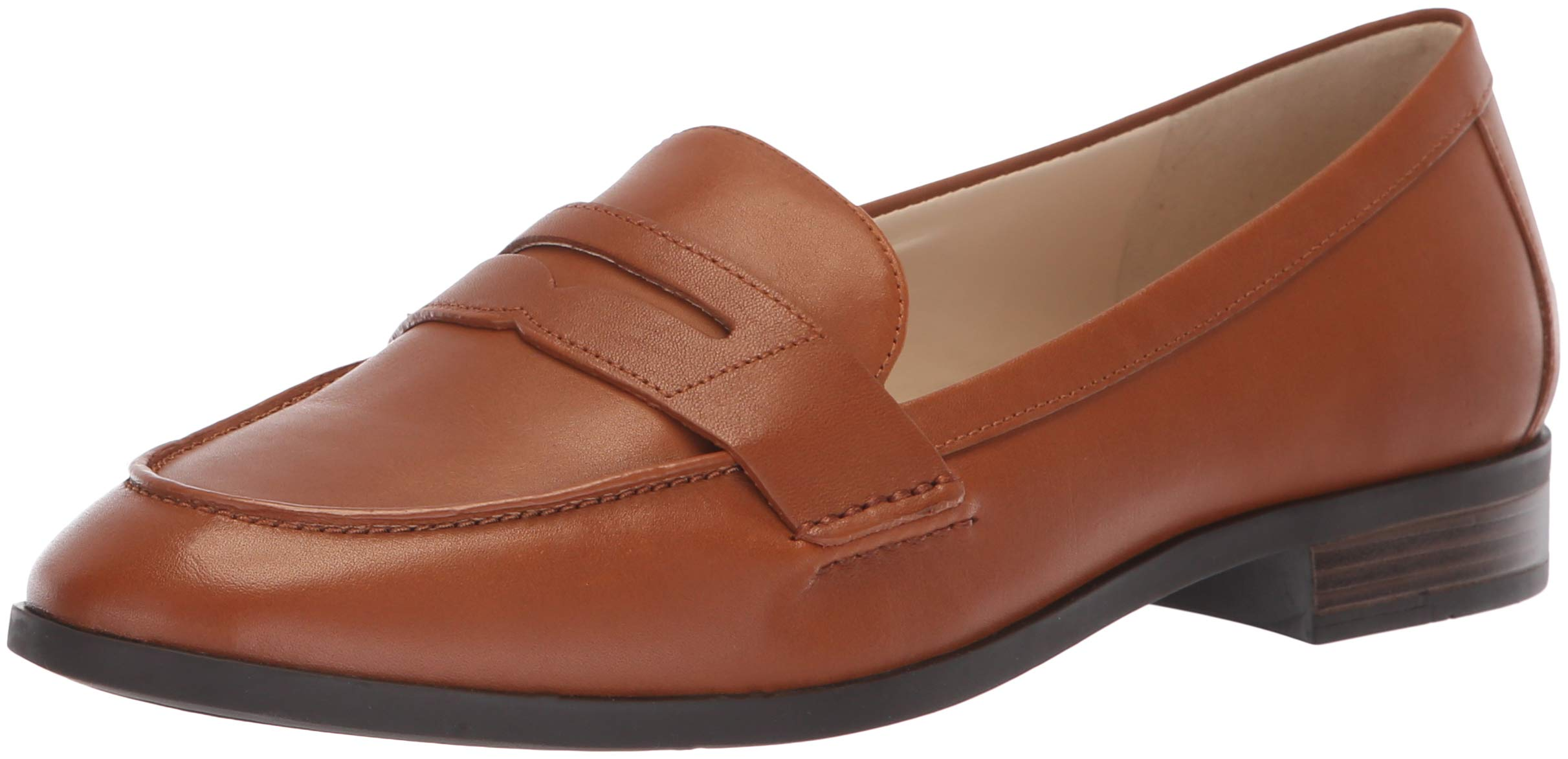 afe217dfd22 Cole Haan Women's Pinch Grand Penny Loafer Flat, British tan Leather, 9 B US