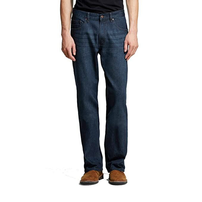 Wrangler Mens 5-Star Relaxed Fit Jeans-Quartz Wash