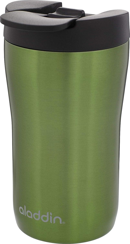 Aladdin Latte Leak-LockTM dell' acciaio inossidabile tazza termica, 0.25litri, 100% auslaufsicher caffè automatiche, Verde, 6.5x 6.5x 14cm 0.25litri 100% auslaufsicher caffè automatiche 6.5x 6.5x 14cm 10-06632-003