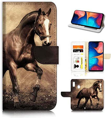 Horse Man and Lion Log Samsung S10 Case