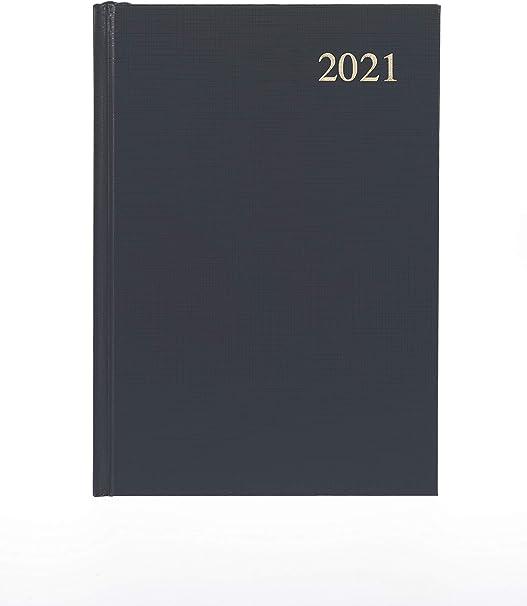 formato A5 Collins Essential colore: Grigio Agenda giornaliera 2021