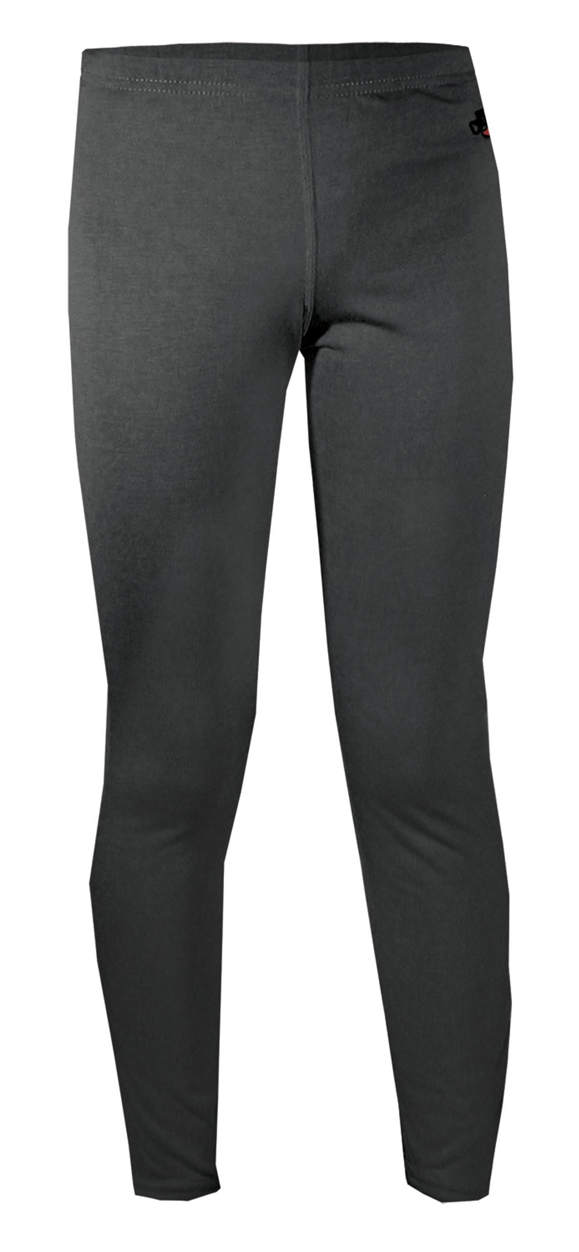 Hot Chillys Youth Midweight Bottom (Black, X-Large)