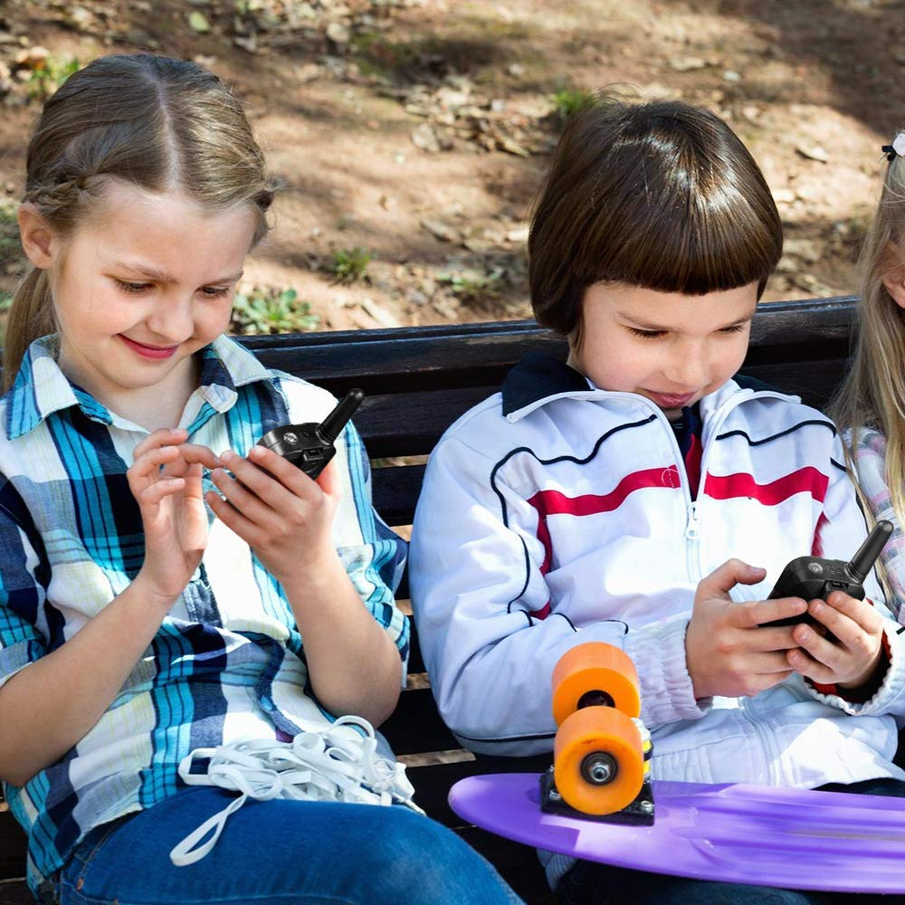 Pussan Fun Toys for 5-10 Year Old Girls Kids Walkie Talkies, 2 Miles Long Distance Walkie Talkies, Outdoor Games, Camping Gear Birthday Gift for Boys and Adlut by Pussan (Image #5)