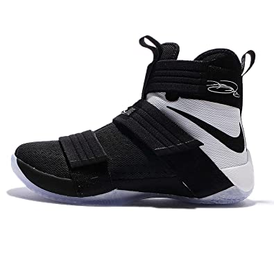 Nike Men\u0027s Lebron Soldier 10 SFG EP, BLACK/BLACK-WHITE, ...