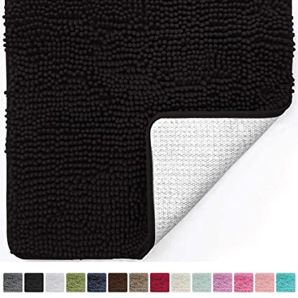 Charmant Gorilla Grip Original Luxury Chenille Bathroom Rug Mat (30 X 20), Extra Soft