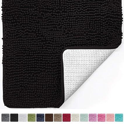 gorilla grip original luxury chenille bathroom rug mat 30 x 20 extra soft - Bathroom Rugs Amazon