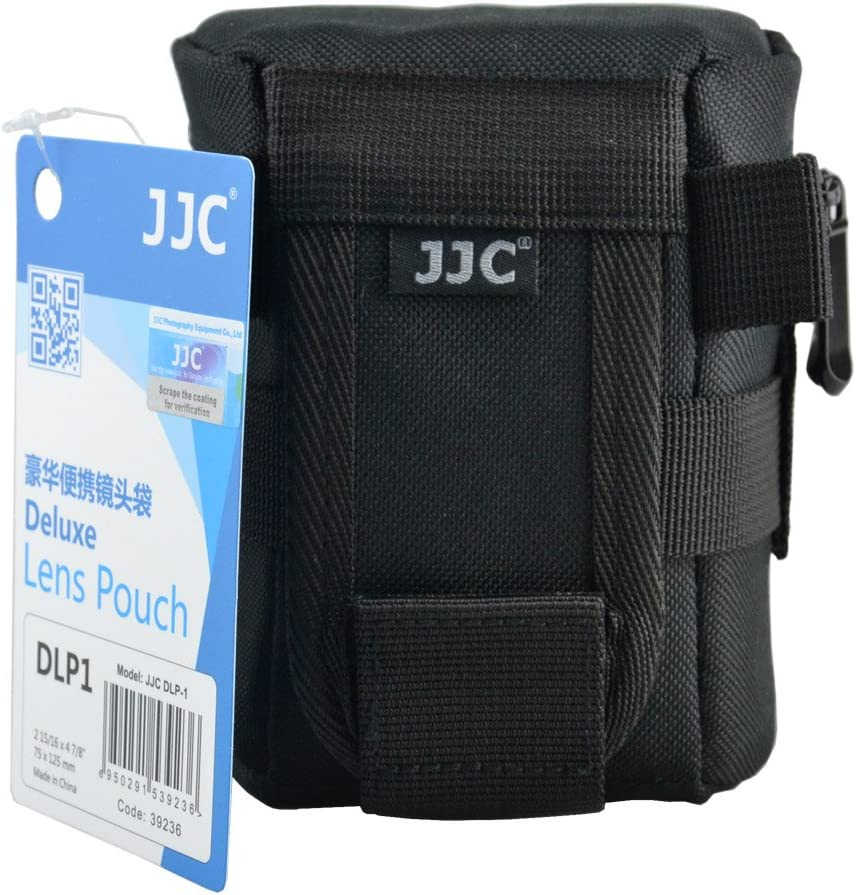 JJC DLP-7 Deluxe Water-Resistant Lens Pouch Case for Tamron SP 150-600mm F5-6.3 Di VC USD G2 Sigma 150-500mm F5-6.3 DG OS HSM fits Lens Up to 144x 316mm Nikon AF-S NIKKOR 200-500mm f5.6 ED VR