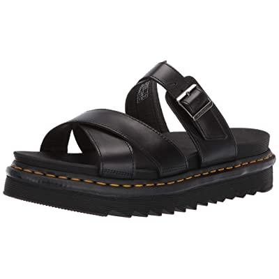 Dr.Martens Mens Ryker Brando Leather Sandals | Slippers