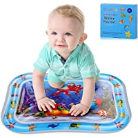 Baby Water Mats,Jornarshar Play Mat Toys for Baby,Inflatable & Water-Filled Sensory Play Pad Fun Activity Water Mat for…