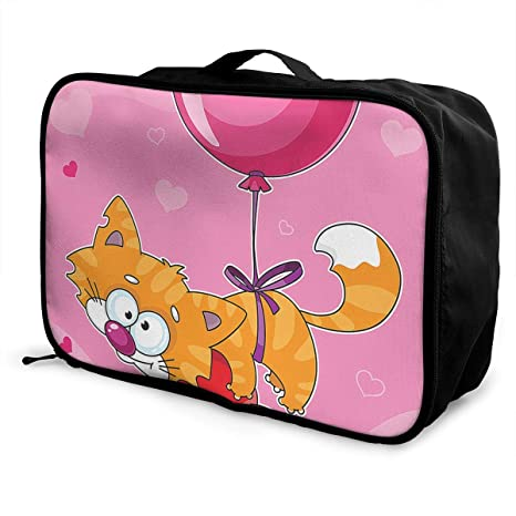 bb8d975f882b Amazon.com: Charm Trend Valentines Day Cat Balloon Lightweight ...