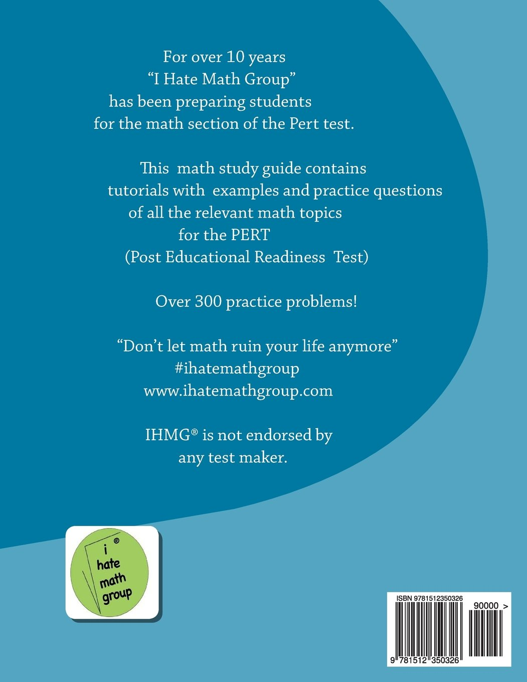 PERT Math Study Guide and 2 Practice tests: A study guide with ...