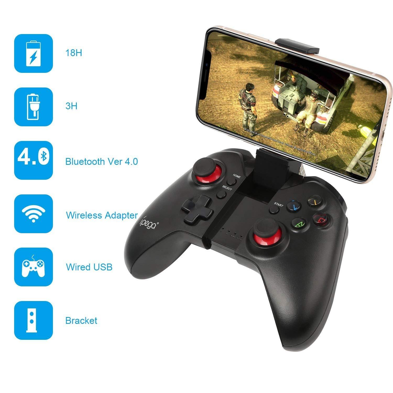 PowerLead 9037 Bluetooth 3.0 Wireless Game Controller Joystick fü r iPhone 5S 5C 6 Plus Samsung S5 S4 Hinweis 4 5 Tablet PC