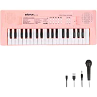 Electronic Piano Keyboard 37 Keys Piano for Kids Music Keyboard Piano with Microphone Learning Music Educational Toy…