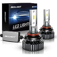 SEALIGHT Scoparc S1 9006/HB4 LED Headlight Bulbs, 14000LM 12xCSP Chips LED Headlights Conversion Kit Low Beam/Fog light…
