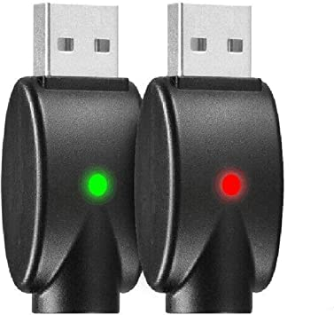 2pcs Pack USB Charger with Over-Charge Protection for Standard 510 Threaded Battery Devices