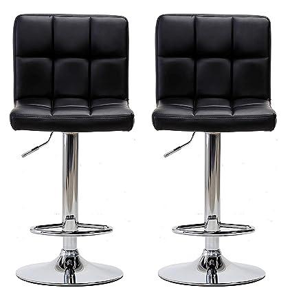 Enjoyable Amazon Com Hongyan Pair Of Cuban Bar Stools Set With Creativecarmelina Interior Chair Design Creativecarmelinacom