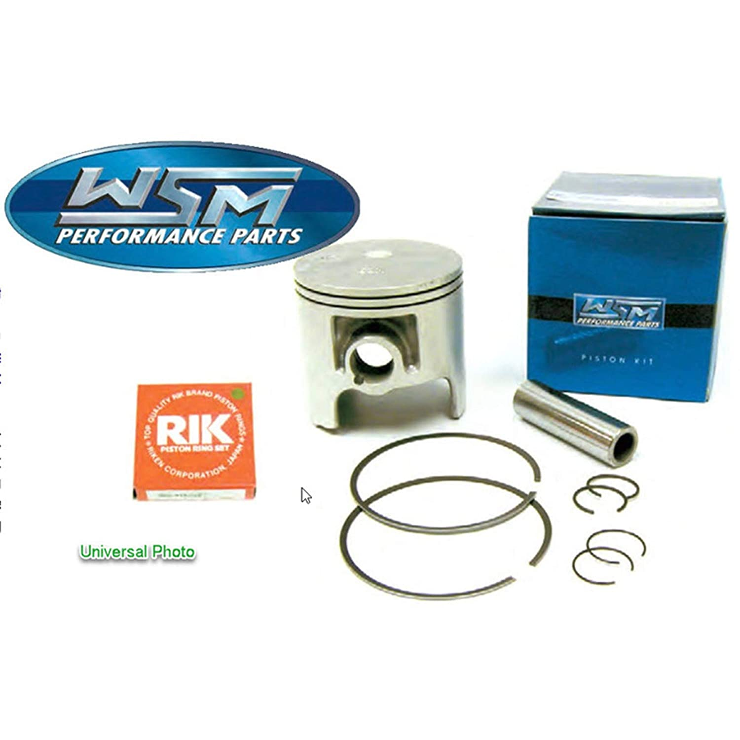 Piston Kit 0.50mm Oversize to 70.25mm Bore For 1995 Polaris SLT 750 Personal Watercraft 755cc